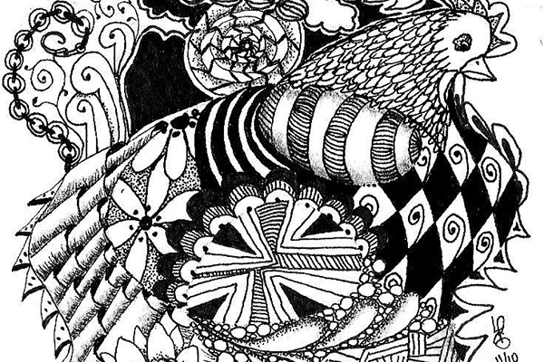 Zentangle®: Drawing for Relaxation w/ Lisa Skeen [FULL]