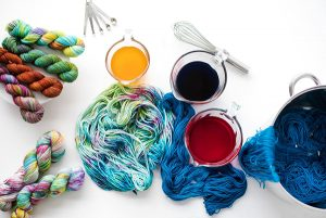 Fabric Art: Yarn Dyeing w/ Jacqui Mehring June 14th @ Hirsch Center at Revolution Mill | Greensboro | North Carolina | United States