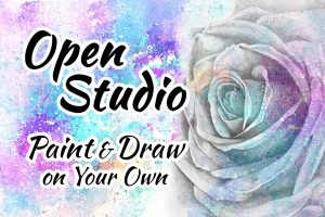 Open Studio at the Hirsch Center: Paint & Sketch on Your Own June 5th @ Hirsch Center at Revolution Mill | Greensboro | North Carolina | United States