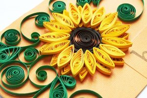 Paper Quilling w/ Elaine Heinl @ Hirsch Center at Revolution Mill | Greensboro | North Carolina | United States