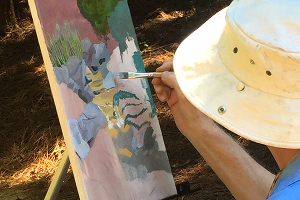 [FULL] Painting en Plein Air w/ Mavis Liggett
