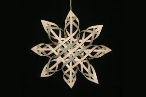 Woven Paper Ornaments w/ Jacqui Mehring @ Hirsch Center at Revolution Mill | Greensboro | North Carolina | United States
