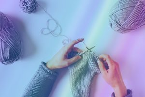 Zen Knitting w/ Joan McNamara @ Hirsch Center at Revolution Mill | Greensboro | North Carolina | United States
