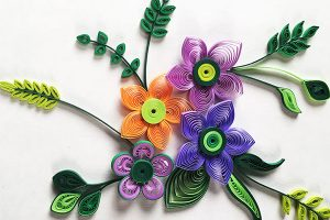Filigree (Paper Quilling) w/ Elaine Heinl @ Hirsch Center at Revolution Mill | Greensboro | North Carolina | United States