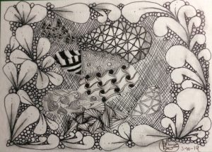 Zentangle®: A Meditative Art Practice w/Michele Rieder @ Hirsch Center at Revolution Mill | Greensboro | North Carolina | United States