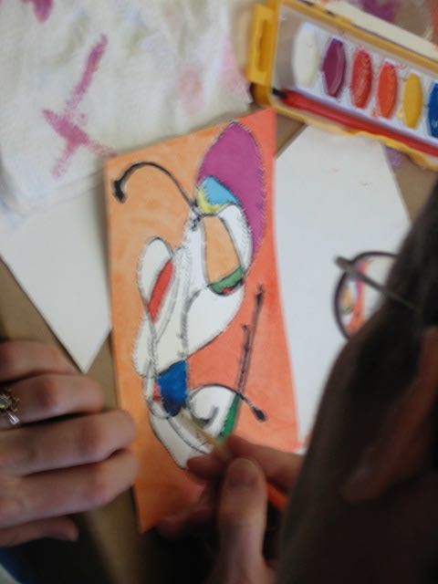 healing arts at hirsch includes painting