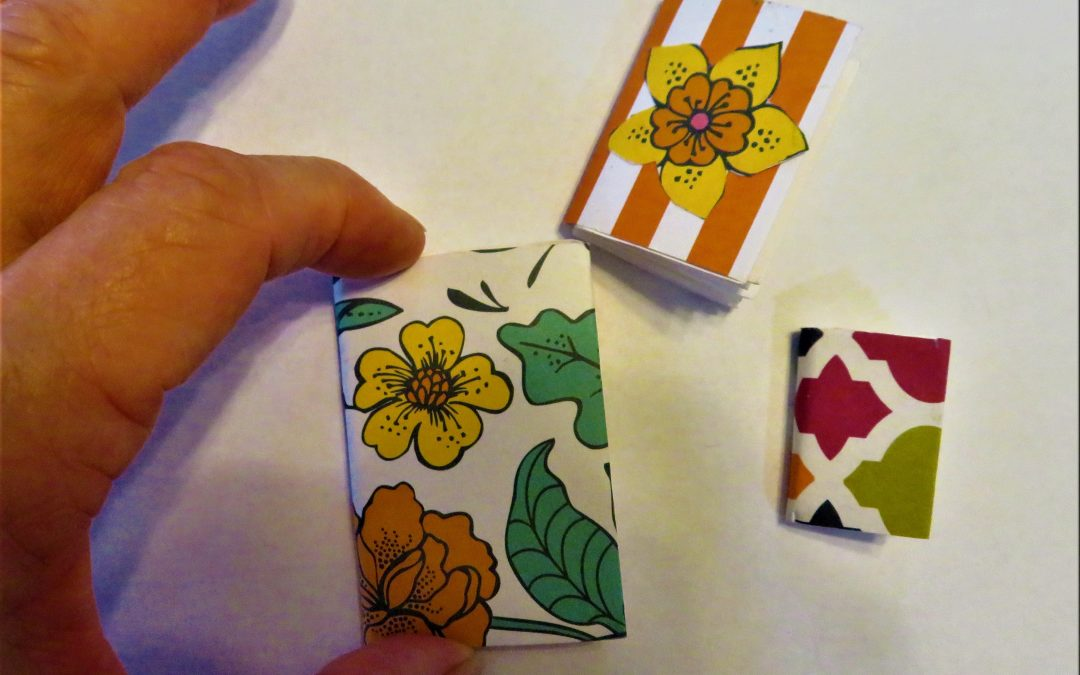 Open Studio Online Creating Miniature Books with Jacqui Mehring