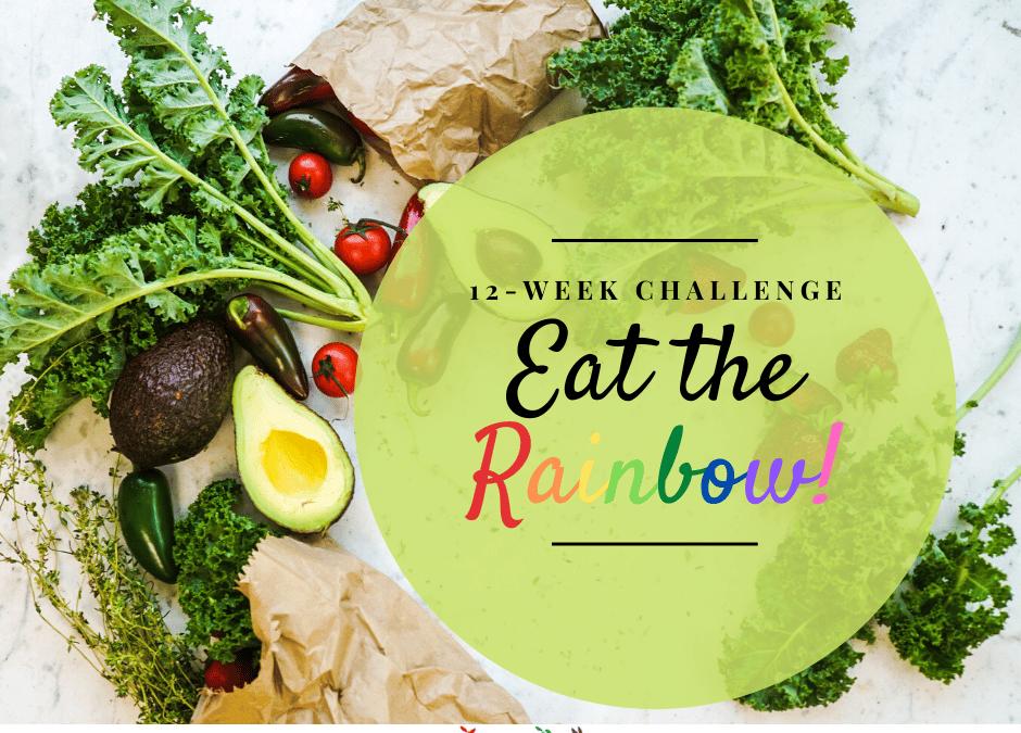 Eat the Rainbow ~ 12 Week Online Health Challenge with Cancer Dietitian Julie Lanford