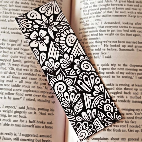 Zentangle Bookmarks with Michele Rieder