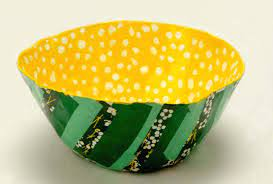 Paper Mache Bowls Online with Jacqui Mehring
