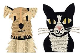 Furry Friends Collage with Mavis Liggett