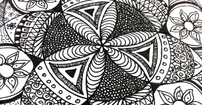 Zentangle with Michele Rieder
