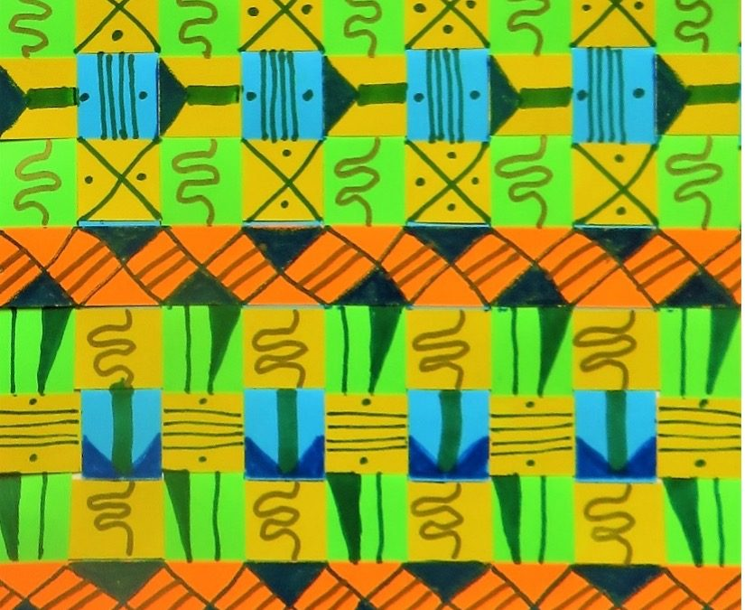 Kente Cloth Inspiration Online with Jacqui Mehring