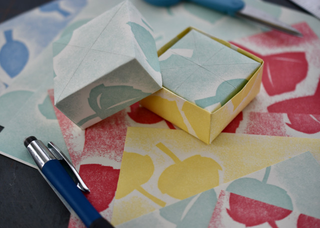 Masu Boxes… or Nesting Origami Boxes Online with Mary Beth Boone